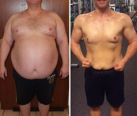 Before and after use Dietonus 3