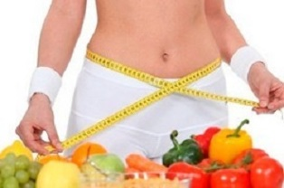 Principles of proper diet for weight loss
